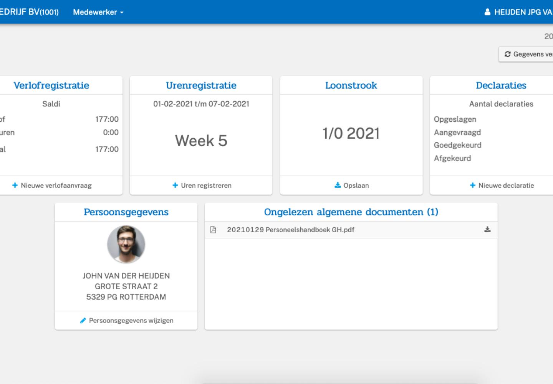 BCS Online webportaal