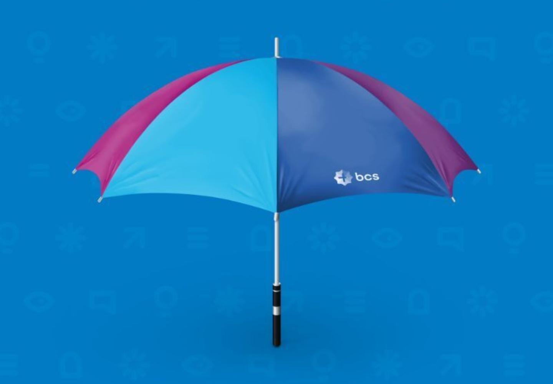 bcs paraplu logo